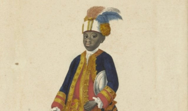 Sideron kwam als ongeveer 7-jarig jongetje van het Afrikaanse Guinee naar Gelderland. (foto: Rijksmuseum)