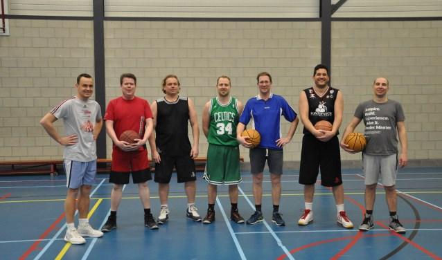 De heren van het nieuwe recreantenteam van BV Unlimited