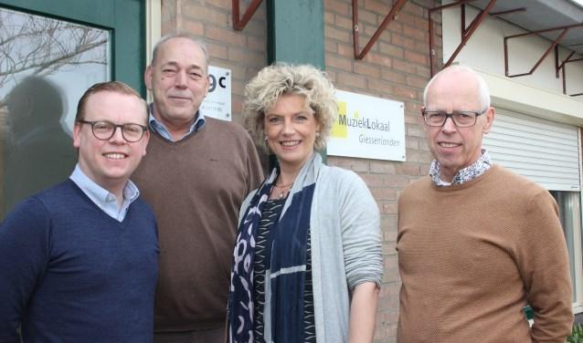 Muziek- en Cultuurcentrum Forte uit Nieuw-Lekkerland en MuziekLokaal Giessenlanden uit Arkel gaan samen verder als één organisatie. (Foto: Privé)