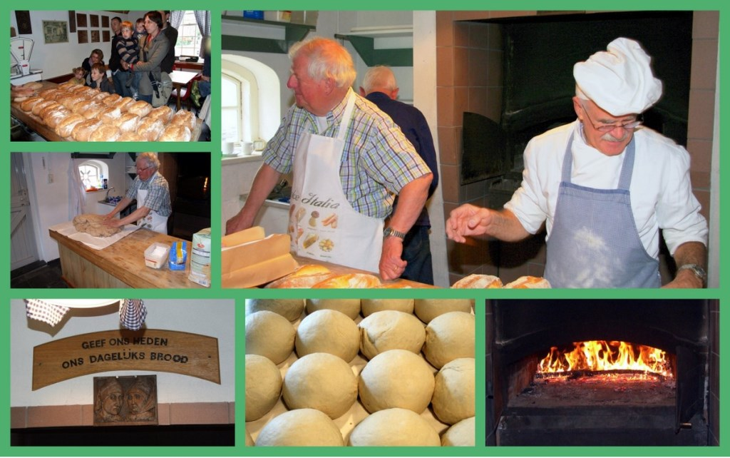Brood bakken in het Jan Visser Museum