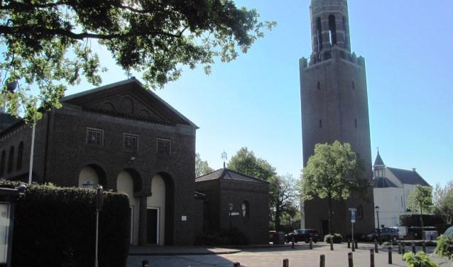 De SintMartinuskerk in Velddriel bestaat dit jaa 65 jaar. Dit wordt zondag 6 mei gevierd. Foto: Truus Peters