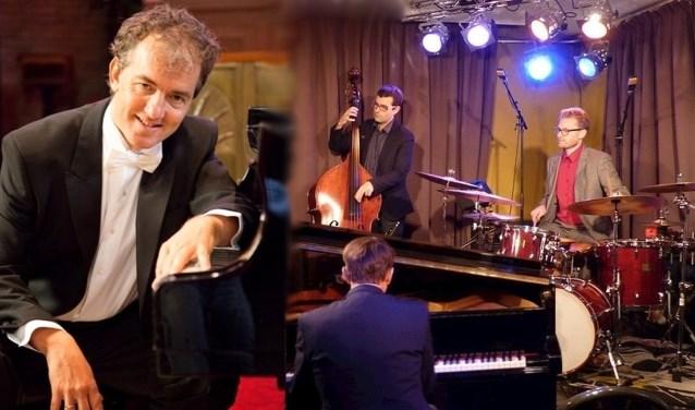 Han Schokker en het Stark-Linnemann jazztrio.