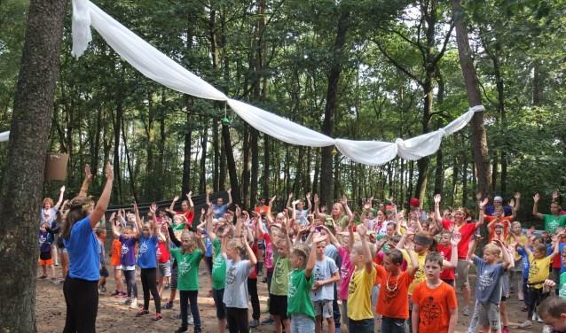 Het Kinderdagkamp vindt al jaren plaats in de laatste week van de zomervakantie.