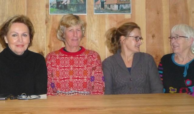 Joke, Sunniva, Gerrie en Ingrid