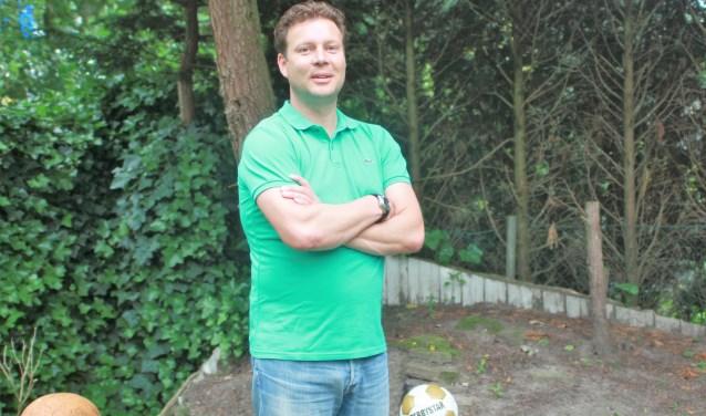 Uno Animo heeft onder trainer Stefan Brok de halve finales bereikt van de districtsbeker. Foto: Wout Pluijmert
