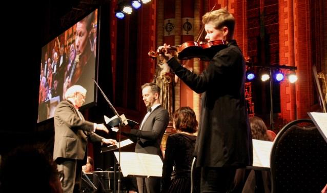 Van leerling en koor tot aan de solist en de eerste violist is de Zieuwentse uitvoering een gepassioneerde uitvoering 'Matthäus'.
