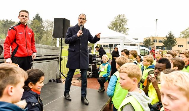Sander Jansen opent Koningsspelen 2017