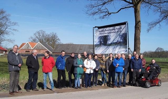 Het bestemmingsplan Dusinksweg fase II is onherroepelijk. In mei kan gestart worden met de uitvoering. Foto: gemeente Dinkelland