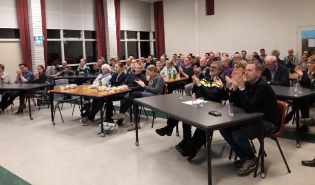 Drukbezochte jaarvergadering van Lievelds Belang.