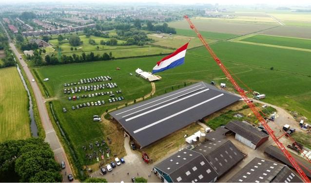 Het agrarische bedrijf van boer Spierings aan de Oijenseweg 284 verandert zaterdag 2 juni in een festivallocatie om plaats te bieden aan Bourgondival Van Streek.
