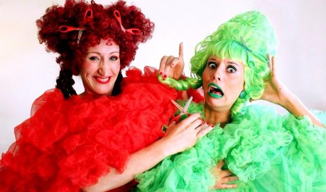 Dit zijn De Nuffe Tantes. Binnenkort komen ze naar theater Hof 88 in Almelo met een voorstelling die geschikt voor de hele familie.