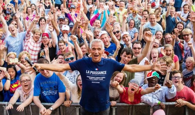 Rijnpop is altijd een groot succes. Belangstellenden komen uit het hele land! Foto: Danny van de Berg.