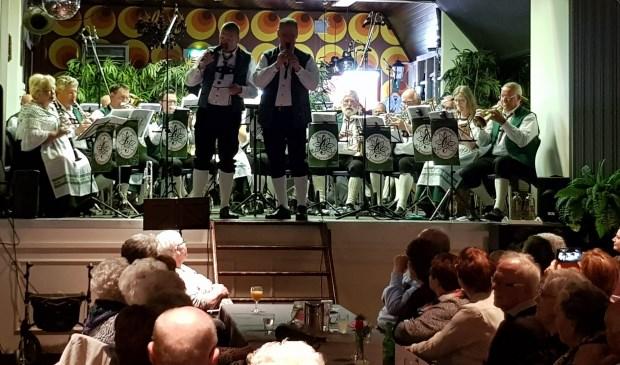 Gezien de vele loftuitingen is dit eerste 'Frühling Mit Blasmusik' concert zeker voor herhaling vatbaar. Eigen foto
