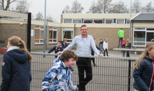 Christiaan de Jong is directeur van CNS-basisschool Juliana, aan de Halderweg.