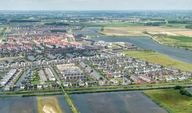 Luchtfoto van De Groote Wielen