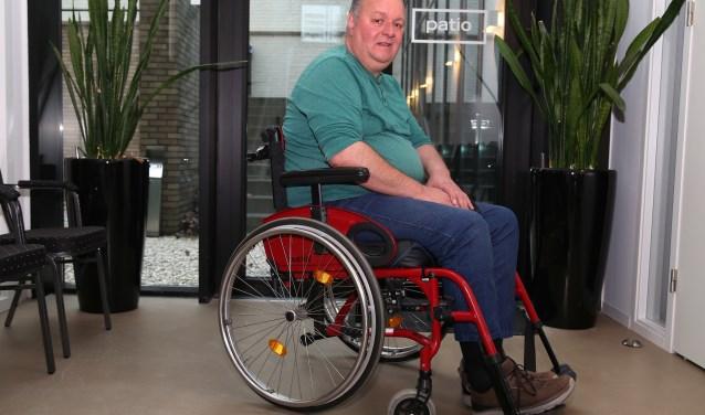 Mario Peters, secretaris van het platform gehandicaptenbeleid Mill (foto Marco van den Broek).
