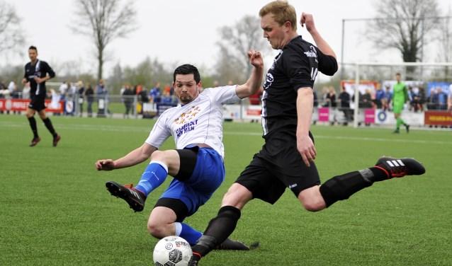 Wout Velten van Enter Vooruit in actie. Foto: Henk Pluimers.