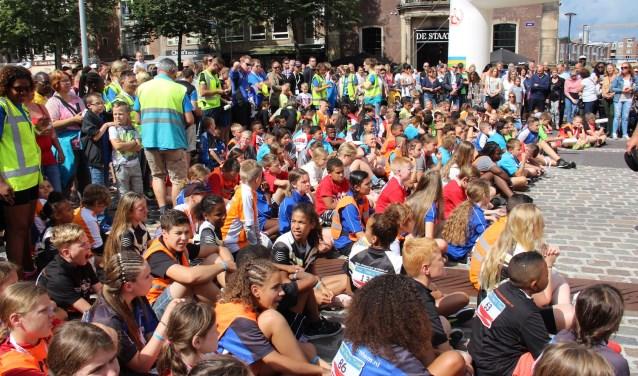 Sinds 1950 wordt Ome Joop's Tour gehouden. Het tiendaagse sportieve evenement trekt ieder jaar veel jonge deelnemers. (foto: PR)