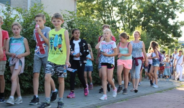 Het wordt weer een traditioneel wandelfeest met vele honderden wandelaars, volgens Dik Schreuder van de organisatie. (Foto: Netty Kros)