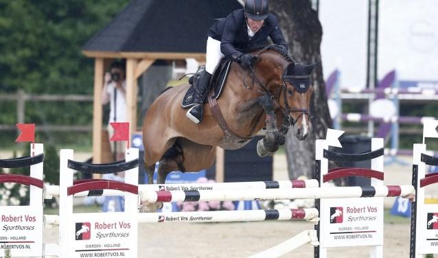Gerco Schröder won met zijn paard Glock's Debalia. vorig jaar de Grote Prijs. Foto: Fototrailer.