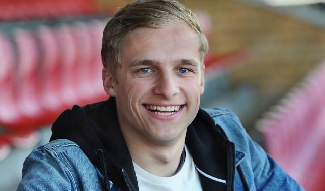 Jorn Eijkelkamp (VIOD) staat vijfde in de stand van de Gouden Schoen.