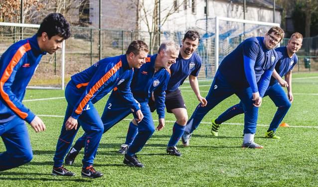 Johan Kamphuys aan het trainen bij De Voetbalwerkplaats (foto: Esther Meijer)