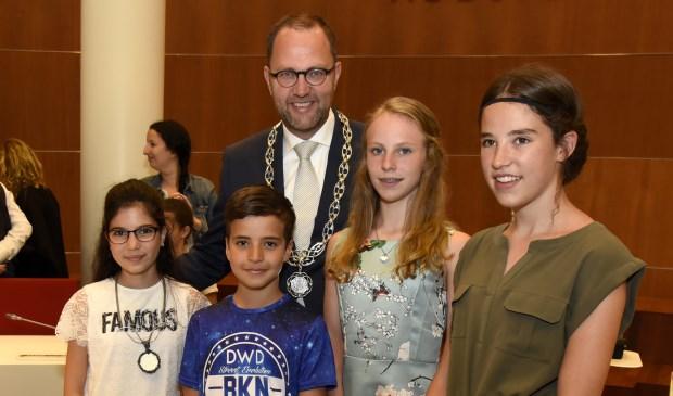 Wie wordt de vijfde kinderburgemeester van Gouda? Op 6 juni zullen we het weten. Foto: Marianka Peters