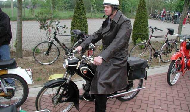 Iedereen met een klassieke motor kan meerijden tijdens de toertocht op zondag 29 april.