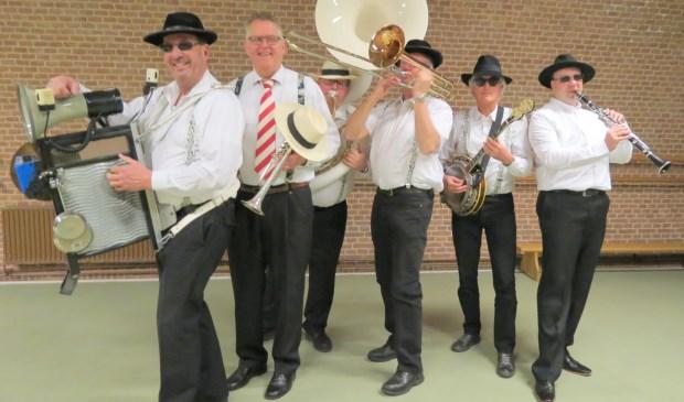 De Sixpack Jazzband. Foto: Cor van Gilst