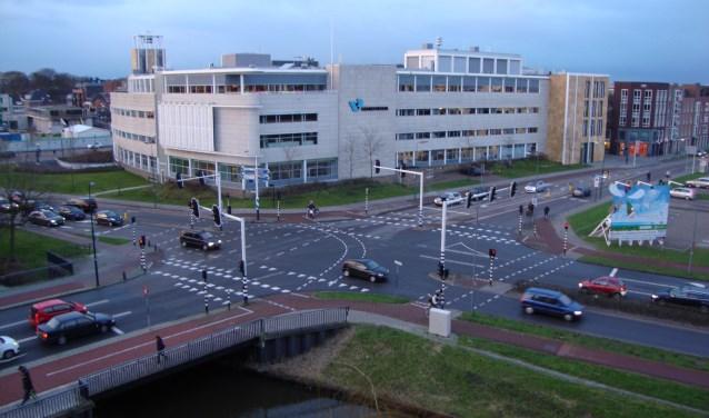 Het gemeentehuis Veenendaal waar straks een nieuw college aantreedt. (Archieffoto: Martin Brink)