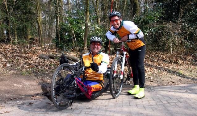 André Weijman en Jan Schaart zijn er klaar voor.