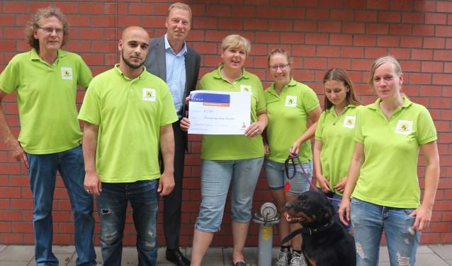 Dierenopvangcentrum Enschede ontvingde meeste stemmen tijdens deRabobank Clubkas Campagne van deRabobank Enschede-Haaksbergen.