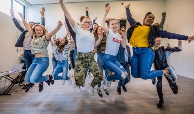 Tim Koldenhof Producties biedt drie vooropleidingen aan: Vooropleiding Dans/Zang, Vooropleiding Thea-ter/Zang en Vooropleiding Theater. (foto Rob Voss)