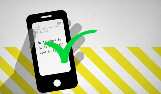 NL-alert op mobiele telefoon