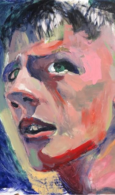 Sari Piek (Giethoorn, 1957) blaast de koppen op tot buitengewone formaten wat een ongewone beleving veroorzaakt.