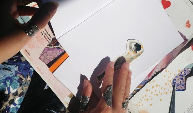 (Kunst)dagboekje in de maak.