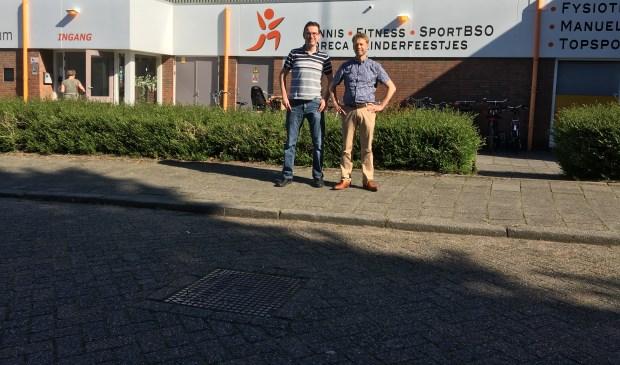 Organsiatoren Christian en Querijn voor De Karmel. FOTO: MARLIEKE BEETS