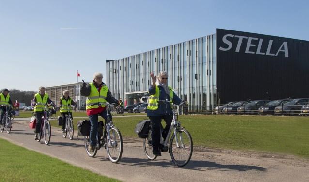 Tot en met 21 mei is er bij Stella Fietsen extra aandacht voor veilig fietsen op 'n e-bike. FOTO: JAAP TIMMER
