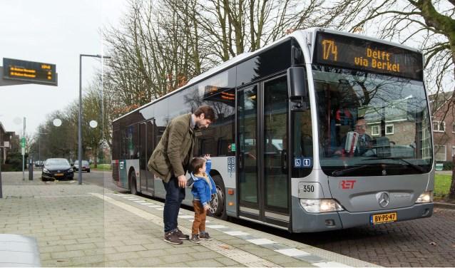 De RET wil de vaste dienstregeling voor lijn 174 na 20:00 uur uur schrappen en vervangen voor een taxibusje bij Westpolder dat reizigers op aanvraag naar bestemming in Berkel rijdt.