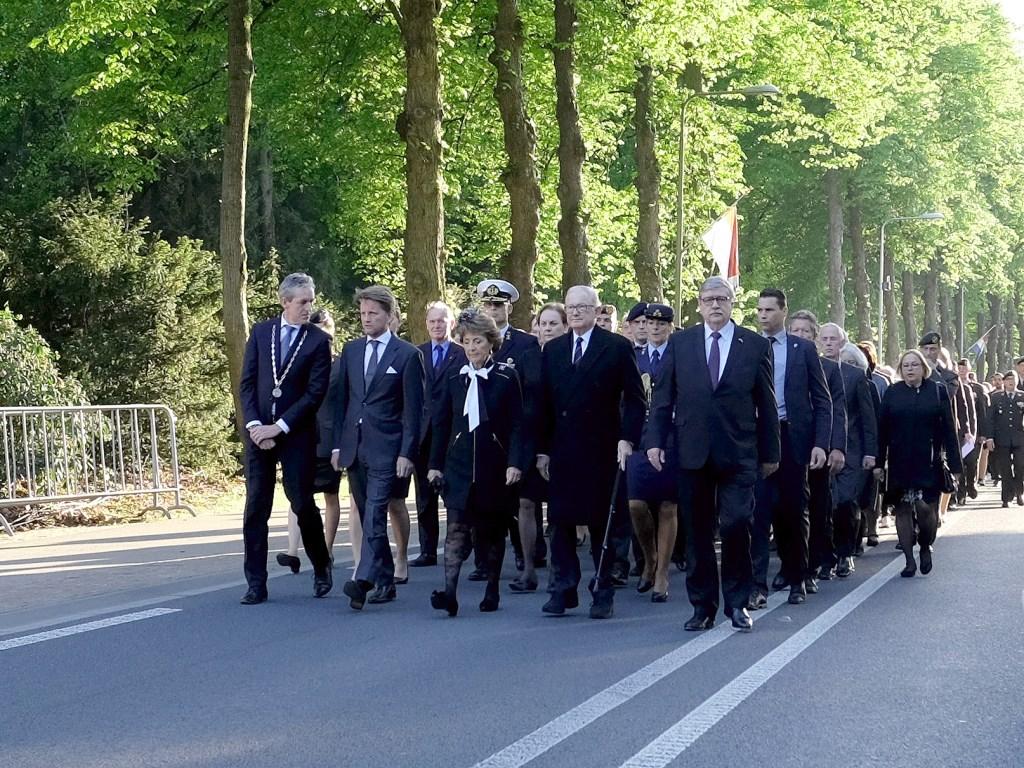 De Koninklijke Familie arriveert. Foto: Max Timons  © Persgroep