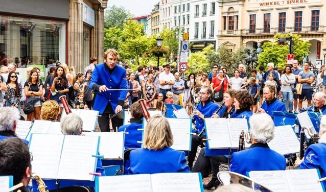 667 muzikanten geven gratis concerten op zaterdag 2 en zondag 3 juni tijdens de Culturele Zondagen Utrecht. Foto Winfried Leeman