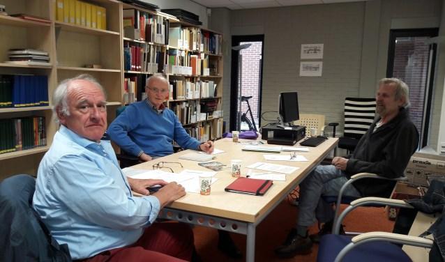 De vrijwilligers van het Kenniscentrum. Het Historisch Kenniscentrum Harderwijk wordt op 15 juni geopend. Foto: Herderewich