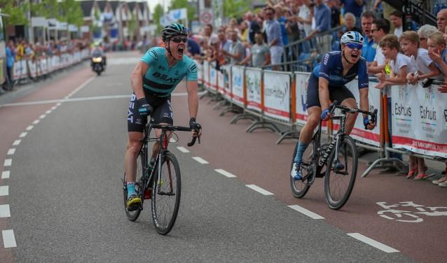 Piotr Havik heeft de Ronde van Overijssel gewonnen in een spannende finale. Foto: Sportfoto/Dick Soepenberg.