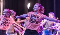 NL Dance verzorgt een van de vele, spetterende optredens tijdens de opening. Foto: Par-Pa fotografie