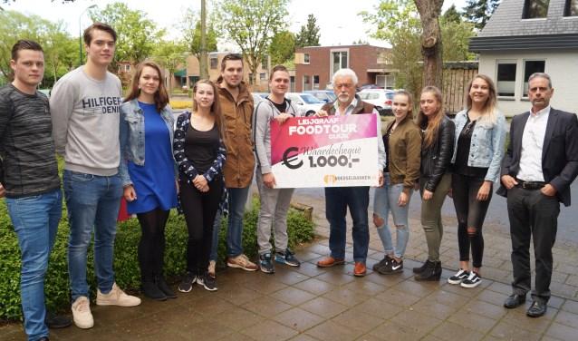 Een deel van de organisatoren van Leijgraaf FoodTour Cuijk. (foto: Leijgraaf Cuijk)
