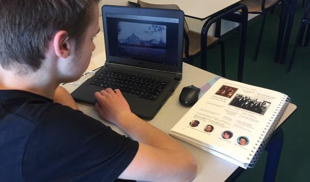 Leerlingen van Were Di gingen zowel online als offline op onderzoek uit. Het leverde bijzondere ontdekkingen op.