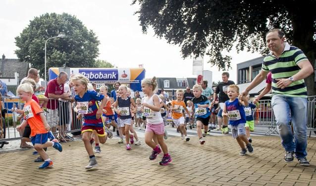 Kidsrun van de Wiezoloop. Foto: Emiel Muijderman / TC Tubantia.