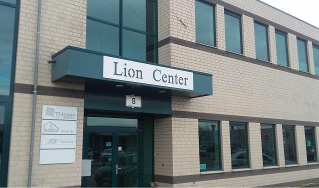 Het Lion Center aan de Lionstraat 8 te Boxmeer.