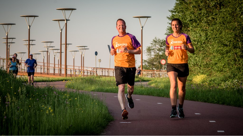 Jeroen Helfrich en Marjolein Hogenes gaan in november de marathon lopen in New York en willen daarmee geld inzamelen voor KiKa.