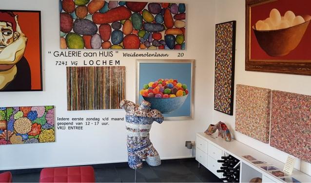 Galerie In Huis : Berkelbode galerie aan huis bij willy alferink